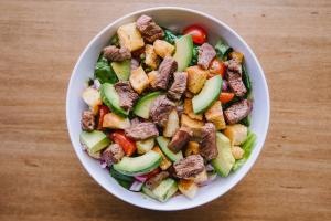 Black & Bleu Salad - delivery menu