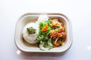 Build Your Own Small Poke Bowl - delivery menu