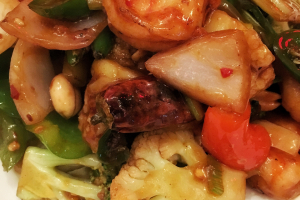 Kung Pao Shrimp - delivery menu