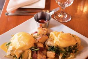 Eggs Sardou Brunch - delivery menu