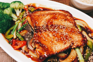Salmon Teriyaki - delivery menu