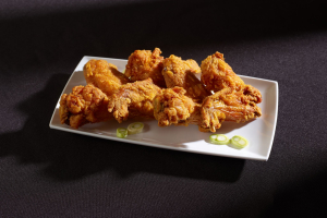 1. 4 Whole Fried Chicken Wings - delivery menu