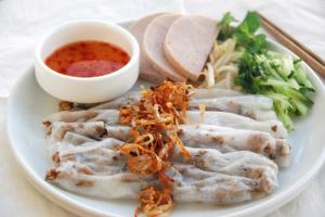A14. Banh Cuon Cha Lua - delivery menu