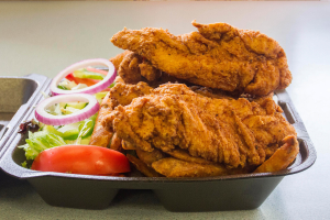 Chicken Fingers Dinner Plate - delivery menu