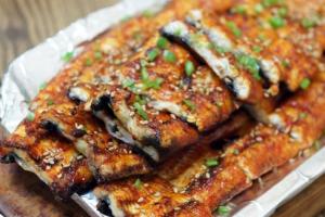 Grilled Eel - delivery menu
