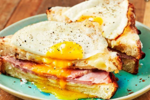 Croque Madame Sandwich - delivery menu