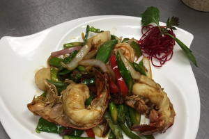 Seafood Delight with XO Sauce - delivery menu