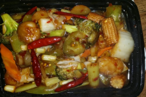 121. Kung Pao Mixed Vegetables - delivery menu