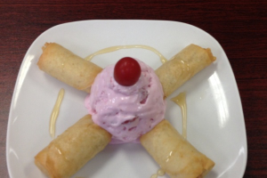 Fried Banana with Ice Cream - delivery menu