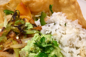 Veggie Tostada - delivery menu
