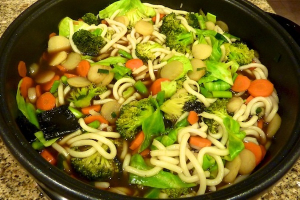 Vegetable Udon Soup - delivery menu