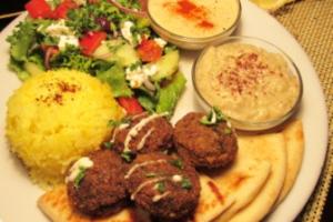 Falafel Plate - delivery menu