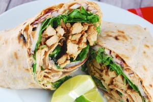 #3. Grilled Chicken Chipotle Wrap Lunch - delivery menu