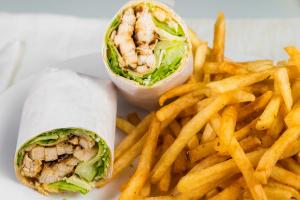 L10 - Chicken Caesar Wrap - delivery menu