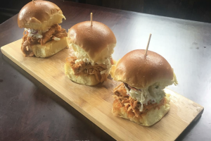 Spicy Smoked Pulled Chicken Slider - delivery menu