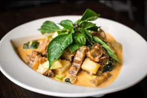 Royal Pork Belly Red Curry - delivery menu
