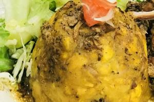 Mofongo de chicharon Pollo - delivery menu