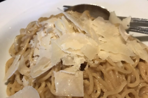 Garlic Noodles (No Meat) - delivery menu