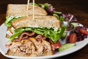 Smoked Salmon BLT - delivery menu
