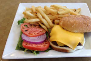 8. Cheeseburger - delivery menu
