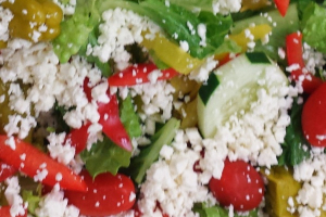 #2. Greek Salad Lunch - delivery menu
