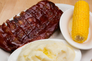 Barbecued Spareribs - delivery menu