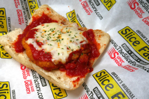 Chicken Parmigiana Sandwich - delivery menu