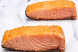 BAKED-KIPPERED SALMON (fish) - delivery menu