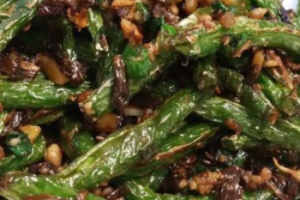 D1. Sauteed String Bean - delivery menu