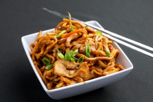 40. Chicken Lo Mein - delivery menu