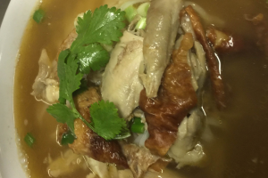 20. Roasted Duck Noodle Lunch - delivery menu