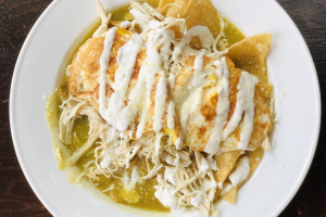 Chilaquiles - delivery menu