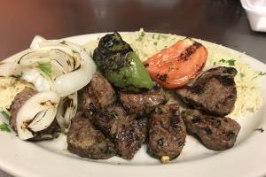 Shish Kabob Entree - delivery menu