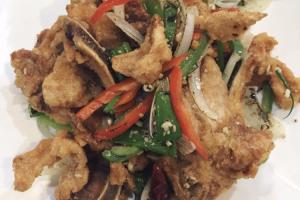 54. Salt and Pepper Pork Chop - delivery menu