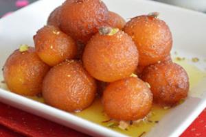 2 Piece Gulab Jamun - delivery menu