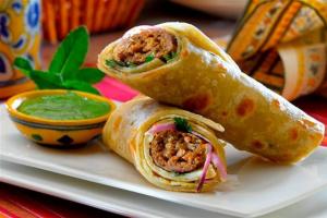 Behari Paratha Roll - delivery menu