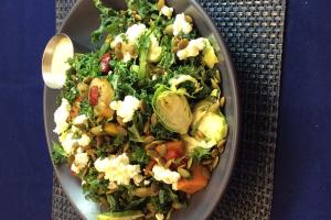 Roasted Vegetable Salad - delivery menu