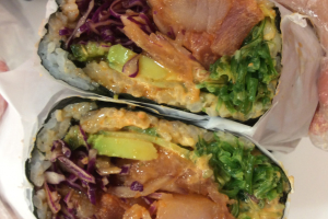 2. Poke Supaishi Burrito - delivery menu