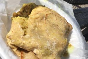 Potato Roti Wrap - delivery menu