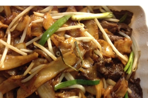 2. Stir-Fried Rice Noodle with Beef - delivery menu