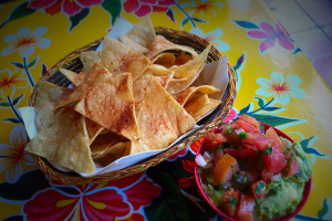 Housemade Chips and Guacamole - delivery menu