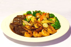 Hibachi Steak and Shrimp - delivery menu