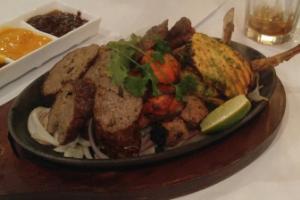 Mix Tandoori Platter - delivery menu