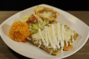 Cancun Style Enchiladas - delivery menu