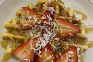 Sea breeze waffle  - delivery menu