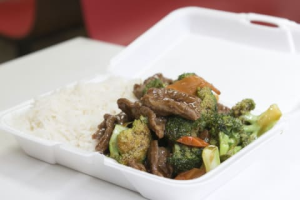 C8. Beef Mixed Vegetable Plate Combo - delivery menu