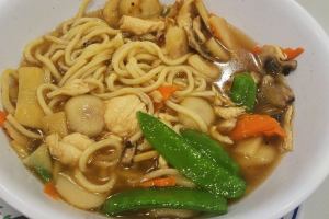 Chicken with Noodles in Soup - delivery menu