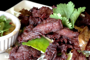 Thai Beef Jerky - delivery menu