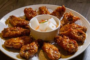 Korean Wings - delivery menu