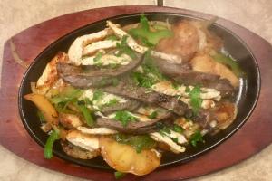 7. Sizzling Fajitas - delivery menu